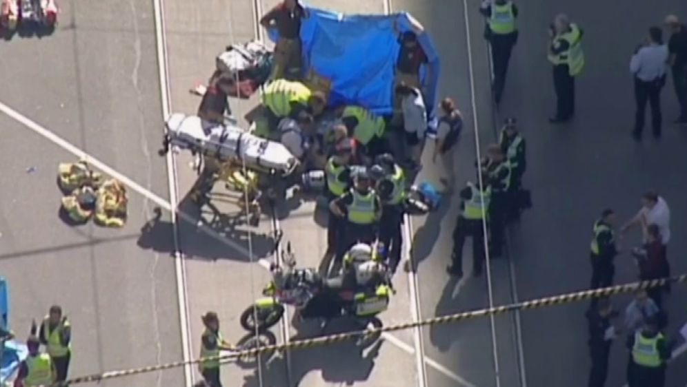 Mjesto nesreće u Melbourneu (Foto: screenshot AP)