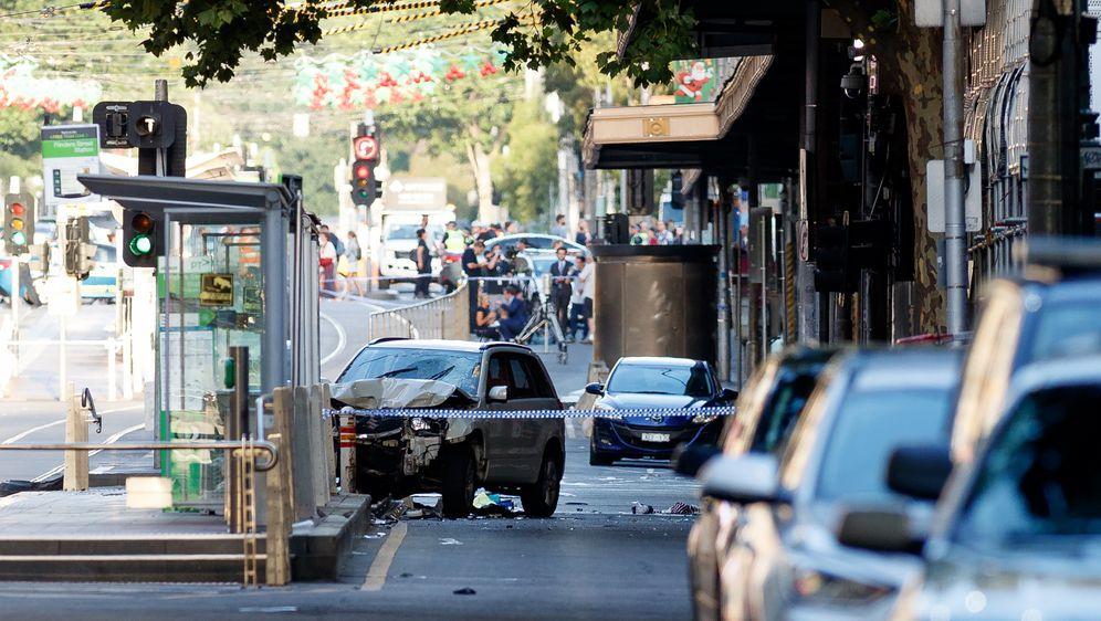 Mjesto nesreće u Melbourneu (Foto: AFP)