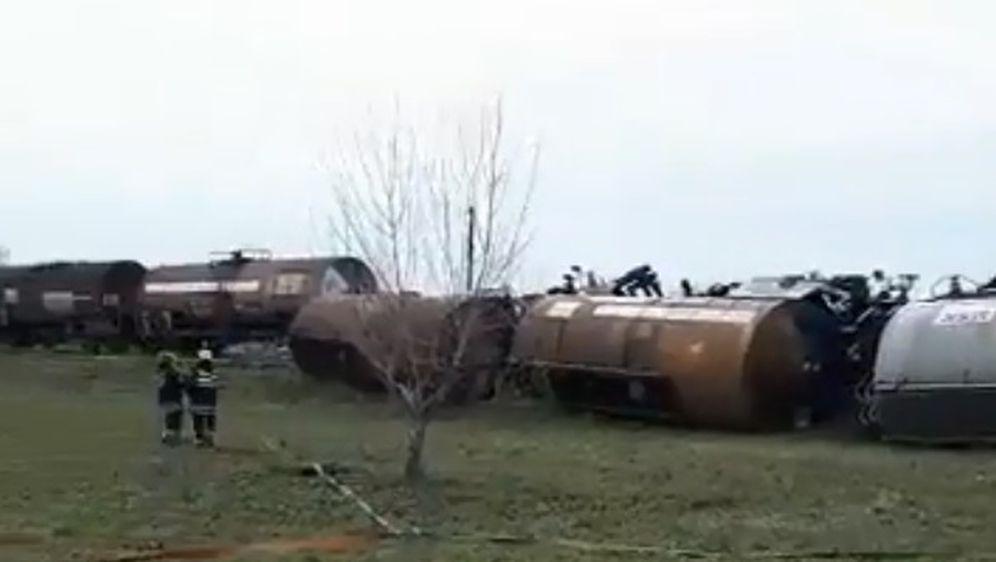 Nesreća kod Novog Bečeja (Screenshot: Facebook)