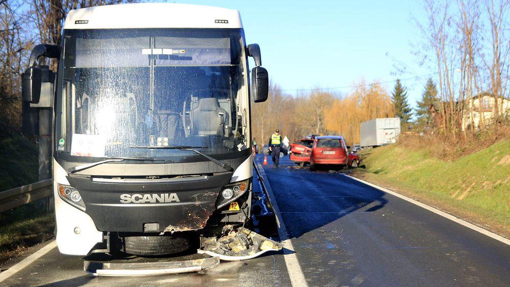 Nesreća kod Jelaša (Foto: Radio Mrežnica)