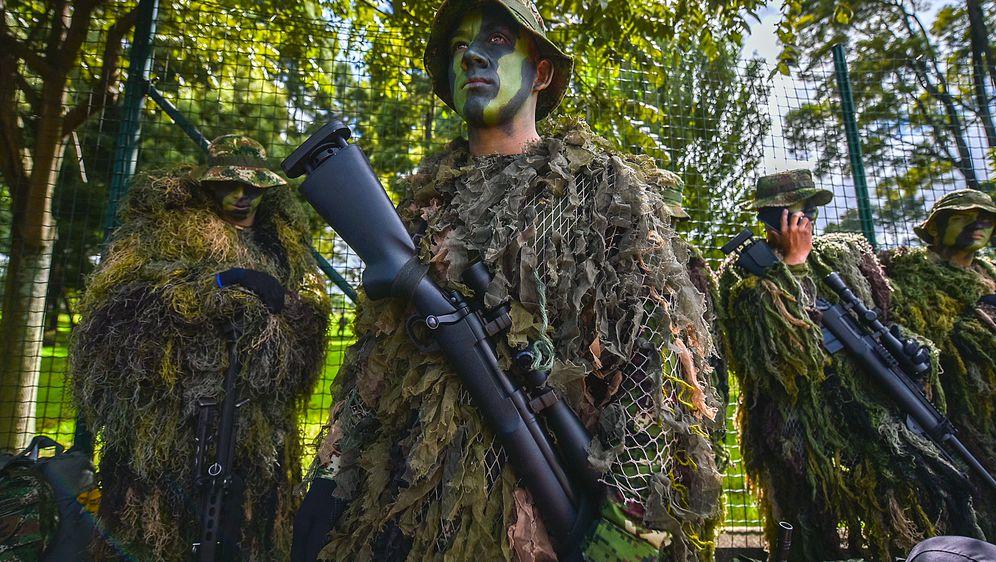 Ilustracija, kolumbijski vojnici (Foto: AFP)