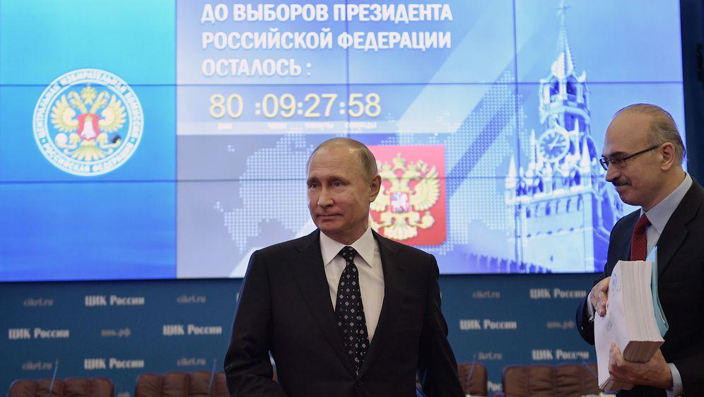 Putin predao kandidaturu za predsjedničke izbore (Foto: AFP)