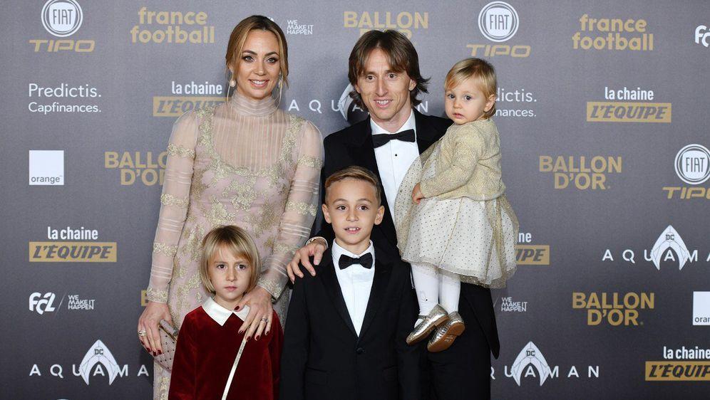 Luka Modrić s obitelji (Foto: Profimedia)