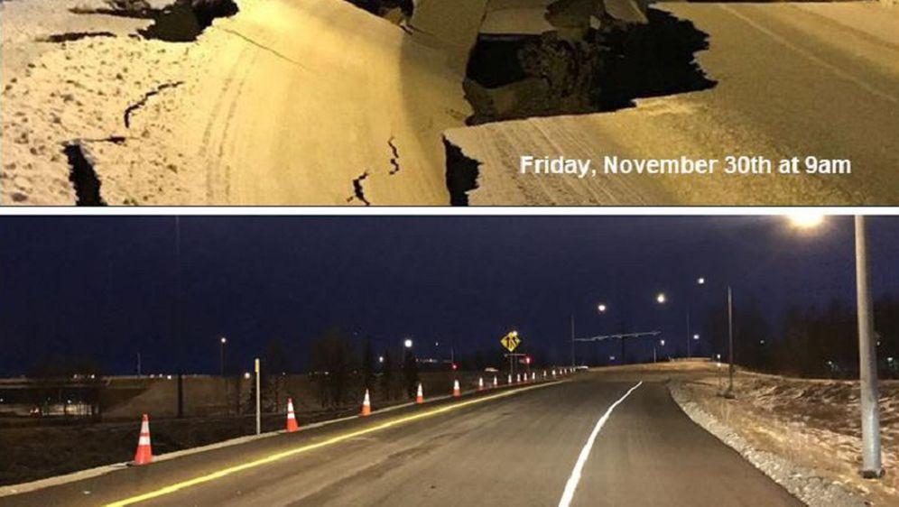 Popravak ceste u samo 7 dana (Foto: Alaska Tour & Travel)