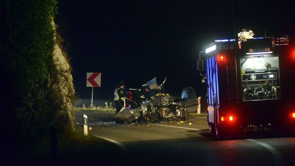 Prometna nesreća kod Buzeta (Foto: Mateo Sardelin/Glas Istre) - 5