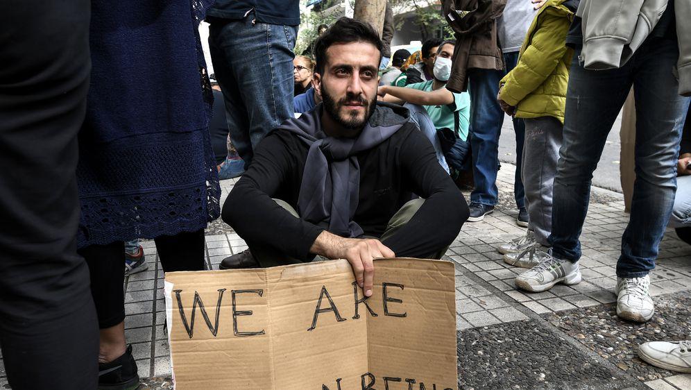 Imigranti (Foto: AFP)