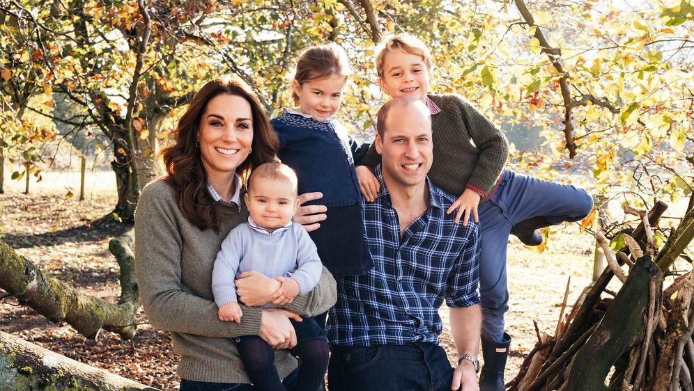 Božićni portret kraljevske obitelji