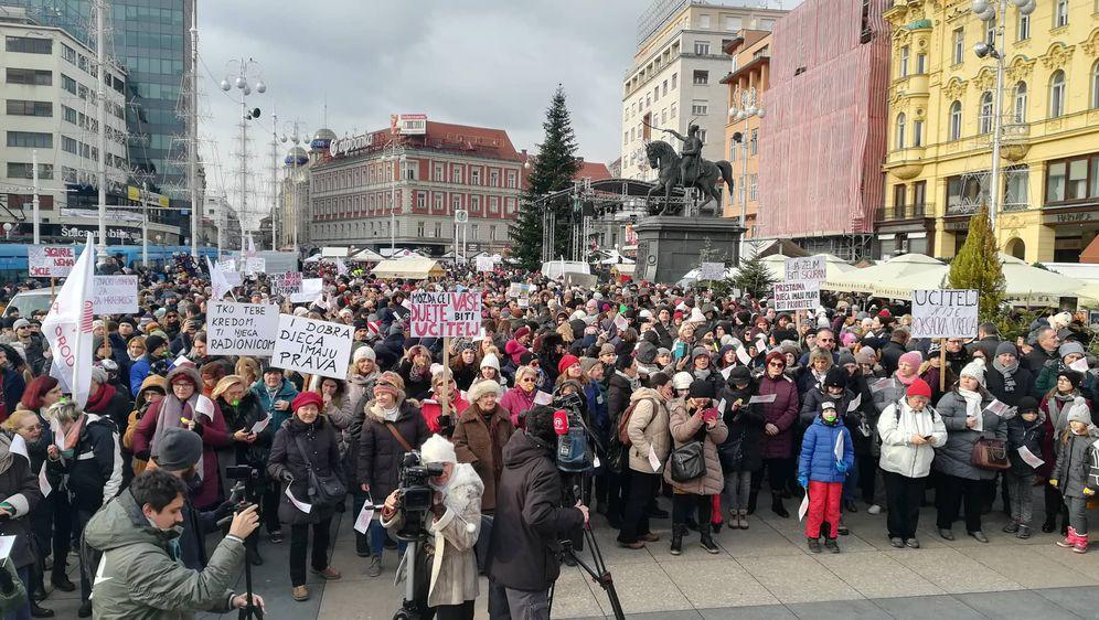 Prosvjed Za sigurnu školu (Foto: Ivana Cerovac/Dnevnik.hr)