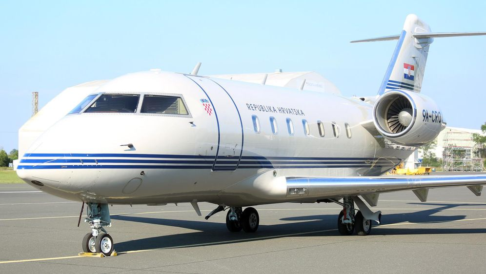 Vladin zrakoplov (Foto: Borna Filic/PIXSELL)