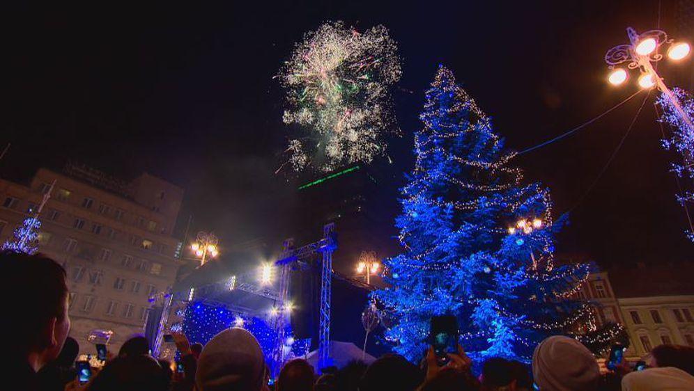 Doček Nove godine u Zagrebu - 1