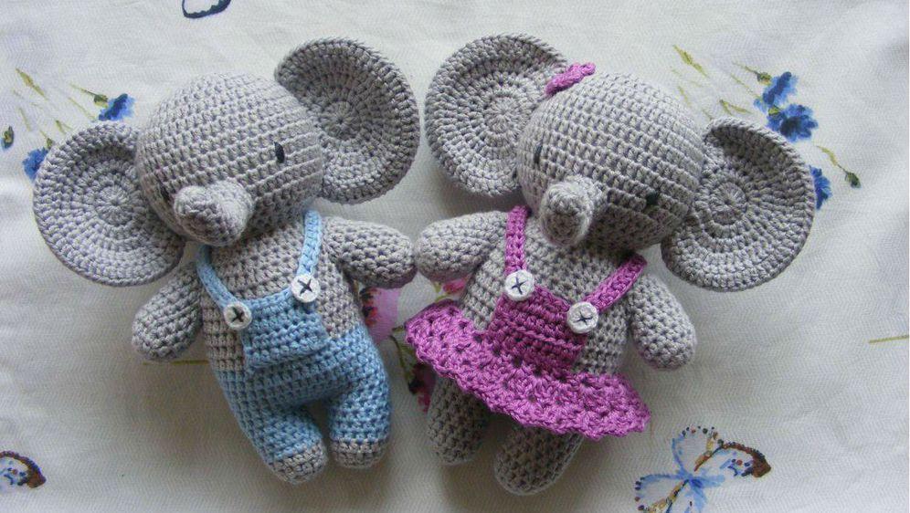 Igračke slon i slonica apsolutni su hit u ponudi Kreativne ovčice