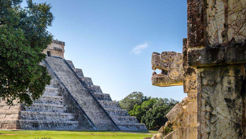 El Castillo, hram posvećen majanskom božanstvu Kukulkanu u drevnom gradu Chicken Itza (Foto: Guliver/Thinkstock)