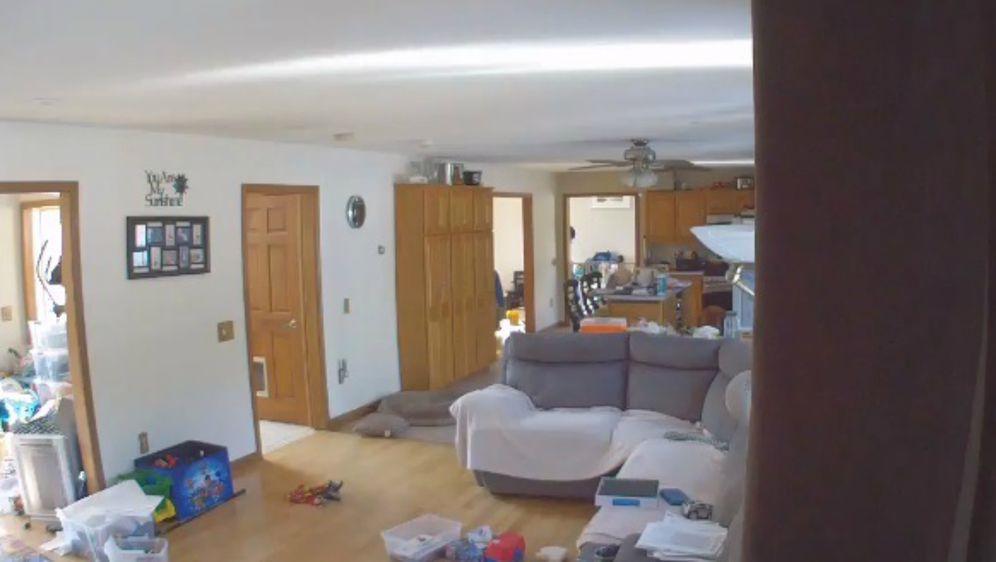 Retriveri uopće nisu imali problem s time što su im stranci upali u kuću (FOTO: Screenshot)