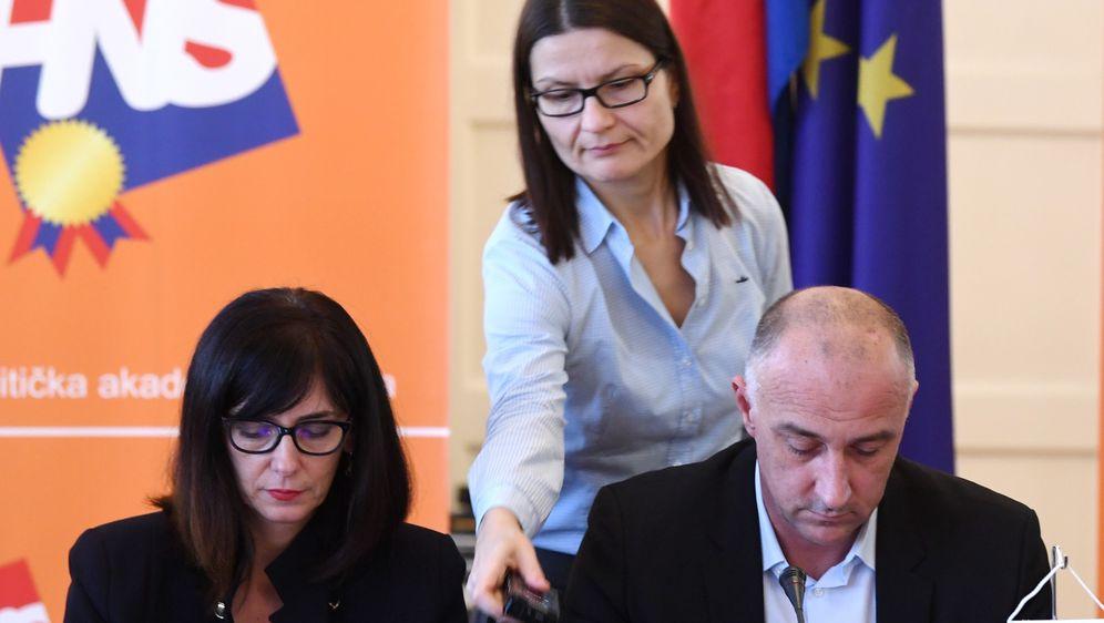 Blaženka Divjak i Ivan Vrdoljak (Foto: Marko Lukunic/PIXSELL)