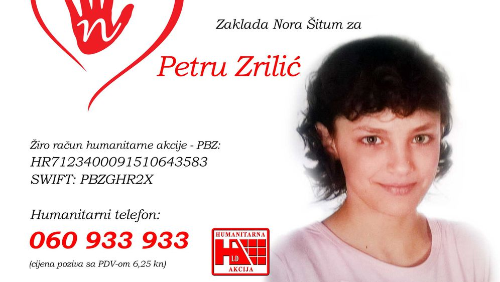 Humanitarna pomoć za Petru Zrilić (Foto: Dnevnik.hr)