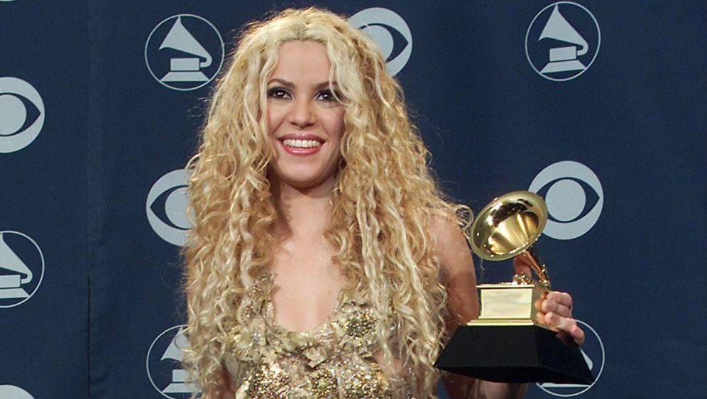 Shakira prvi put na dodjeli nagrada Grammy 2001. godine