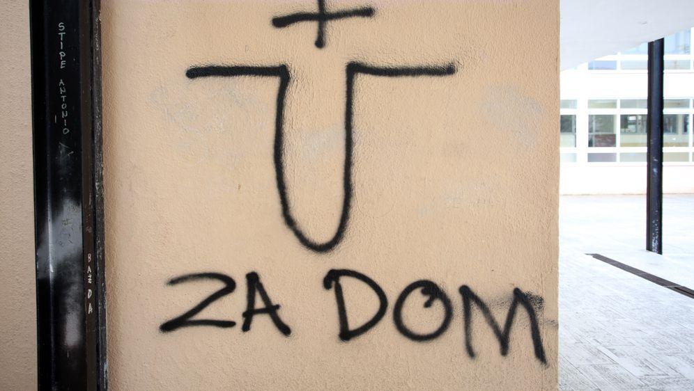 Ustaško U (Foto: Miranda Cikotić/Pixsell)