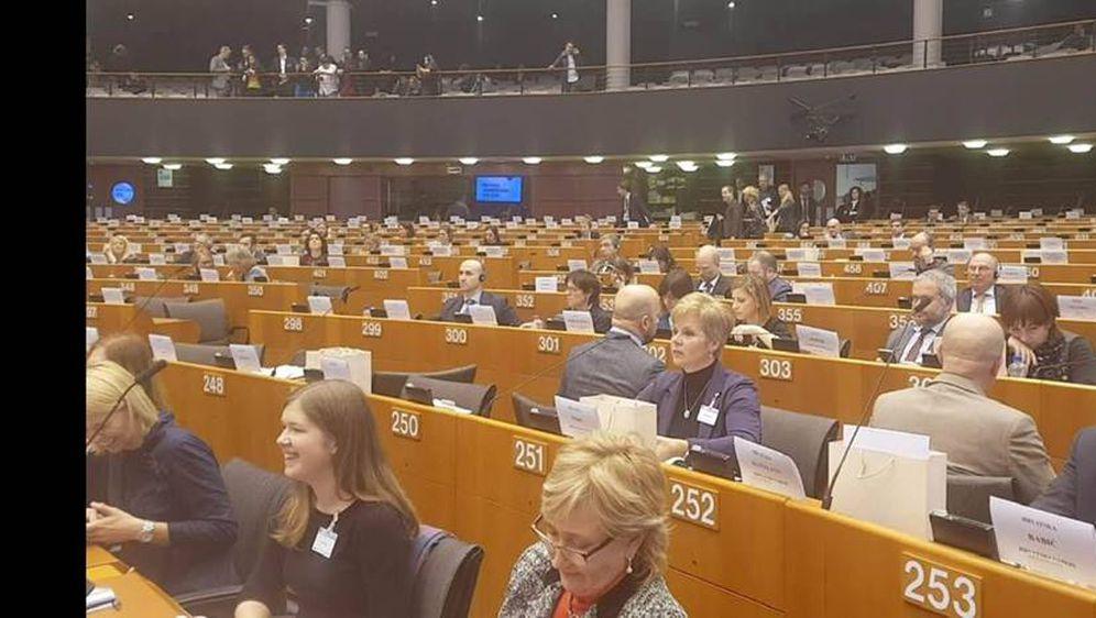 Performans SDP-ovaca u Europskom parlamentu (Foto: Facebook)