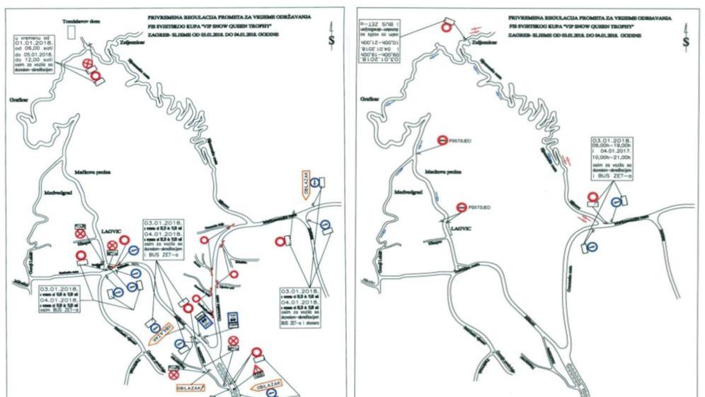 Posebna regulacija prometa za Snježnu kraljicu (Foto: PUZ)