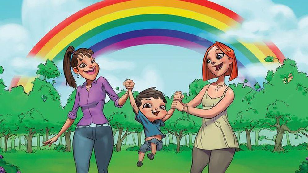 Dugina obitelj (Ilustracija iz knjige)
