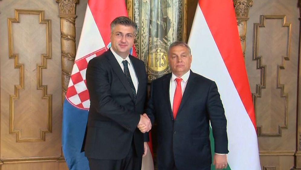 Andrej Plenković i mađarski premijer Viktor Orban (Foto: Dnevnik.hr)