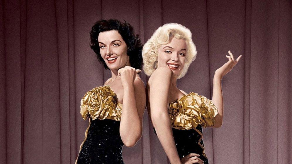 Jane Russell i Marilyn Monroe u filmu 'Muškarci više vole plavuše'