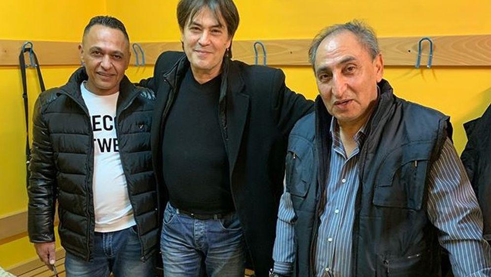 Vlado Kalember, Miodrag i Nenad Kostić (Foto: Instagram)