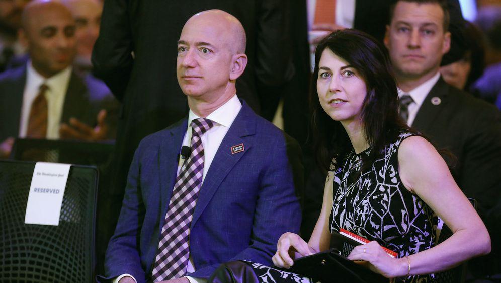 Jeff i MacKenzie Bezos (Foto: Getty Images)