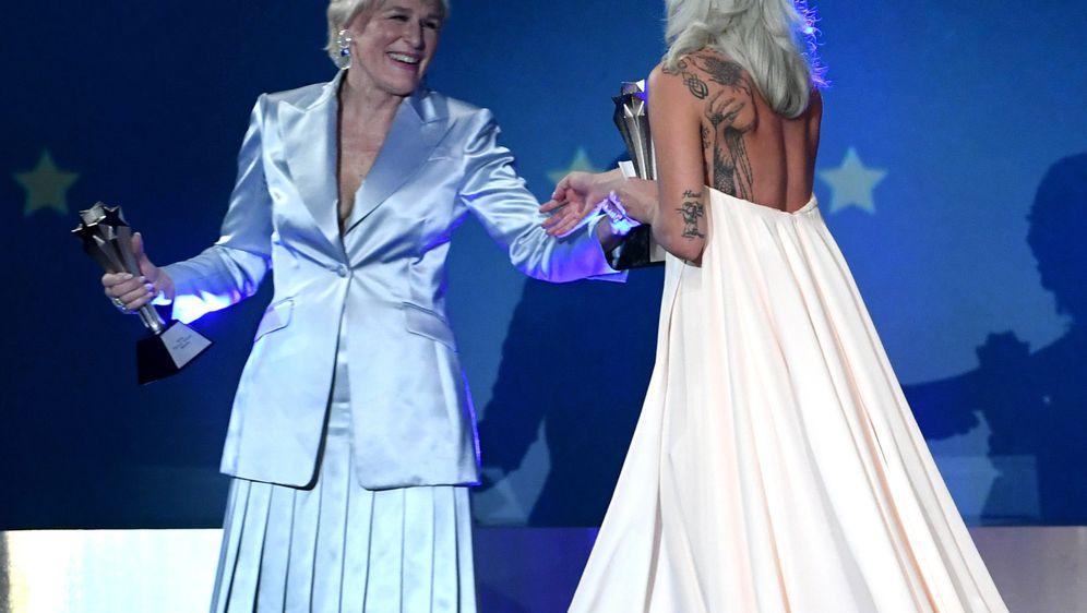 Lady Gaga i Glenn Close (Foto: Getty Images)