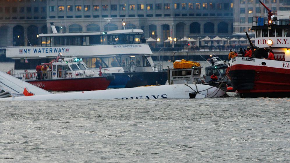 Slijetanje zrakoplova na rijeku Hudson (Foto: AFP)