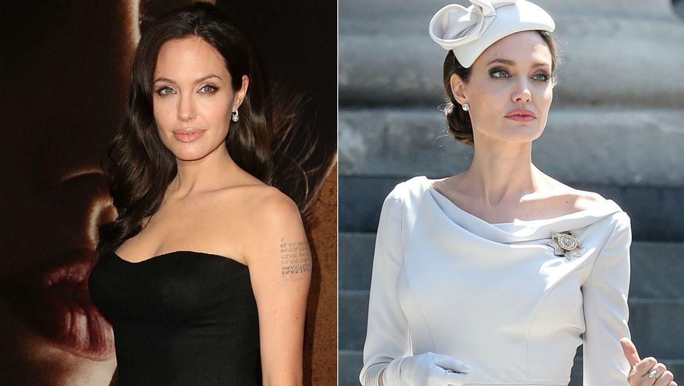 Angelina Jolie prije 10 godina i danas