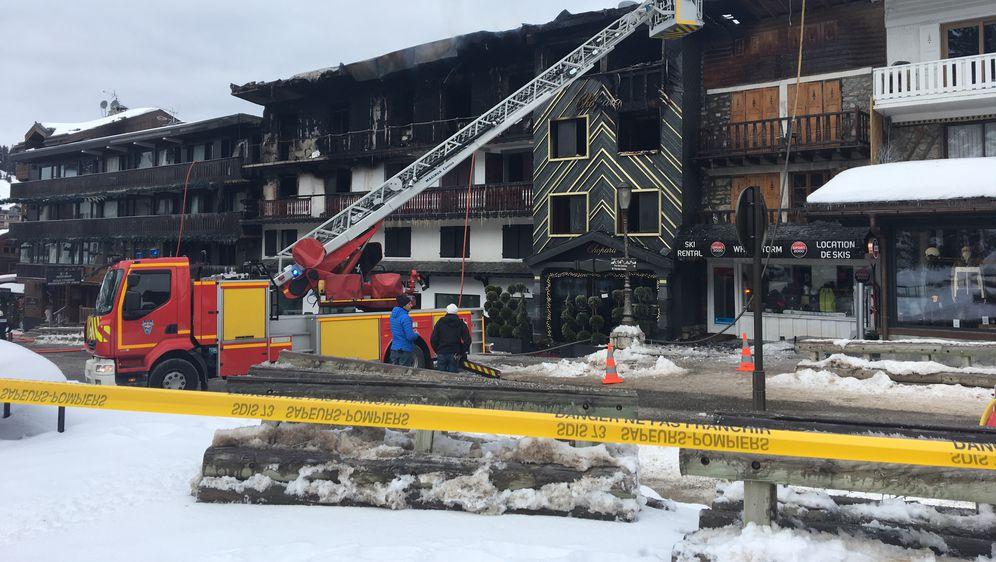 Izgorio hotel u francuskom skijalištu (Foto: AFP)
