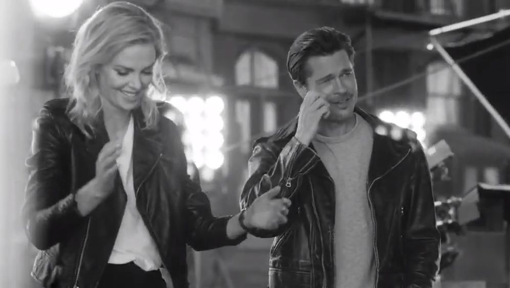Brad Pitt i Charlize Theron (Foto: Screenshot)