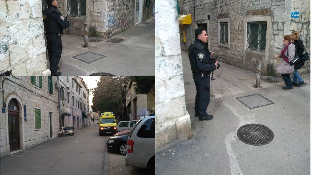 Policija na splitskim ulicama nakon pucnjave