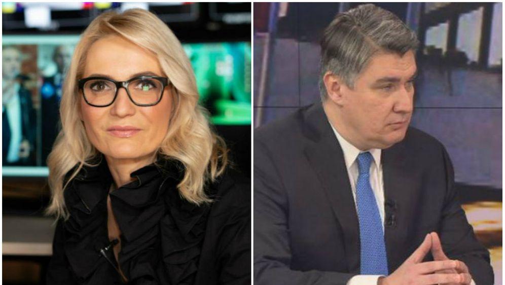 Zoran Milanović i Gabrijela Kišiček