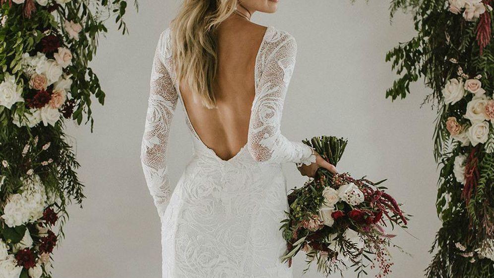 Trenutno su popularne vjenčanice naglašenih leđa