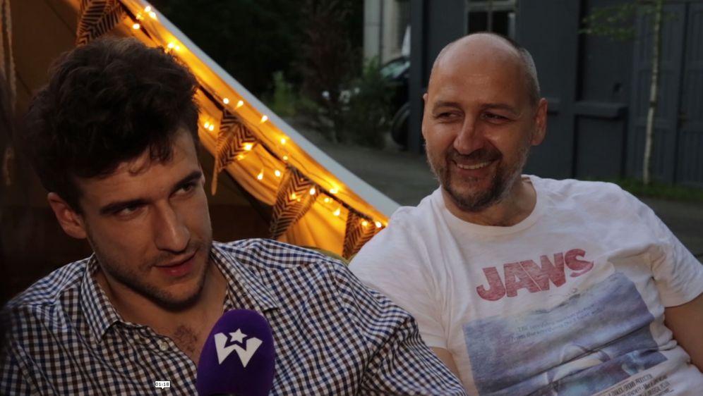 Marko Mrkić i Dino Rađa (Foto: Anamaria Batur)