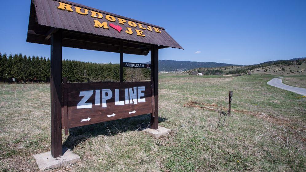 Zip-line u Rudopolju, ilustracija (Foto: Davor Puklavec/PIXSELL)
