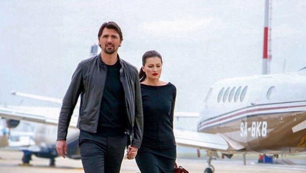 Nina Badrić i Goran Ivanišević (Foto: Instagram)