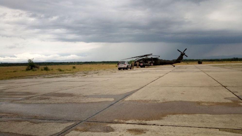 Oštećeni američki helikopter (Foto: Dnevnik.hr)