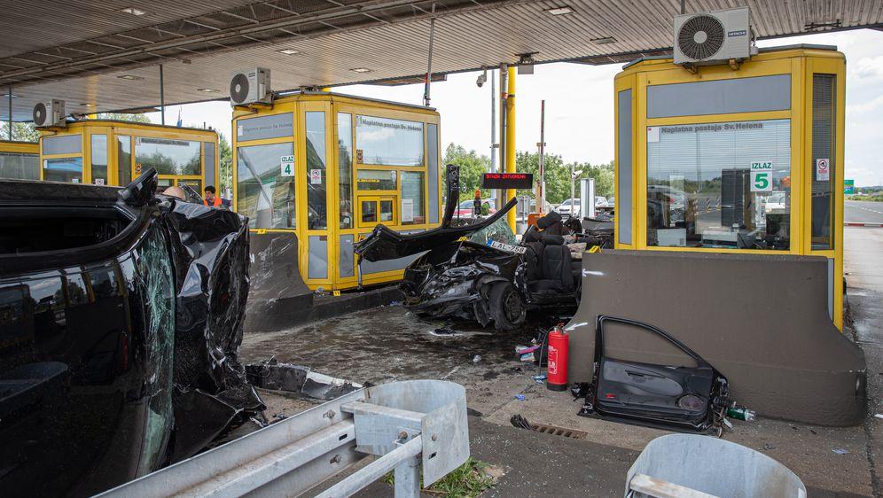 Nesreća na ulazu kod Sv. Helene (Foto:Davor Puklavec/PIXSELL) - 8
