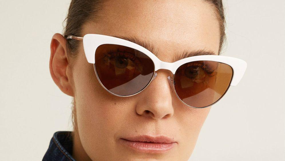 Sunčane naočake s bijelim okvirima, Mango, 79 kuna