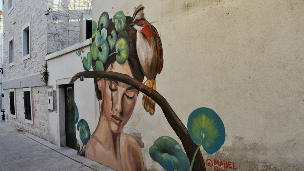 Mural koji je djelo Mabel Vicentef