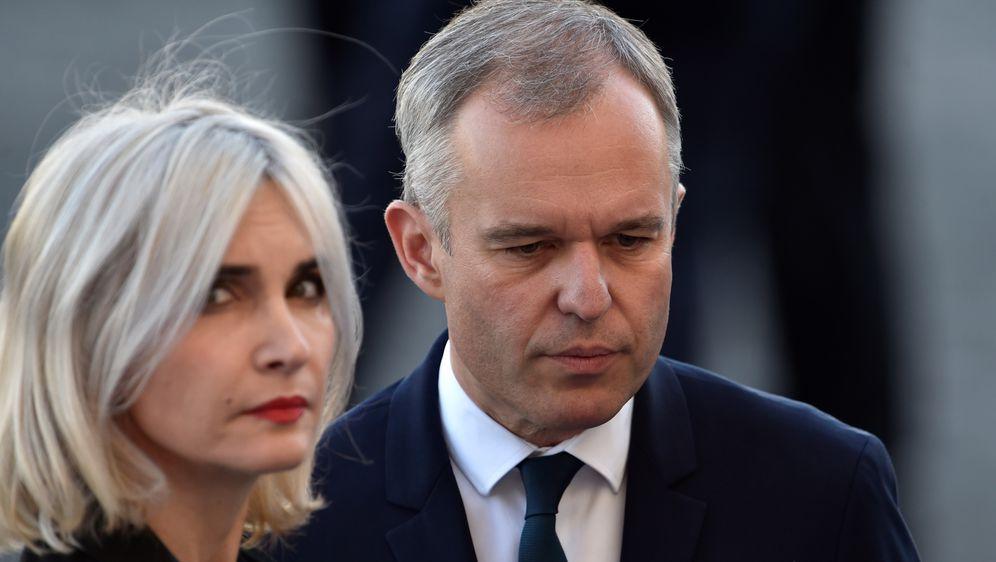 Francuski ministar okoliša Francois de Rugy i njegova supruga (Foto: ALAIN JOCARD / AFP)