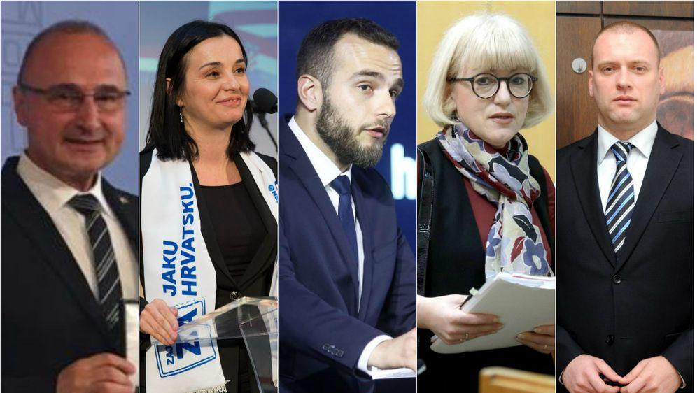 Novi ministri (Foto: MVP, Pixsell)