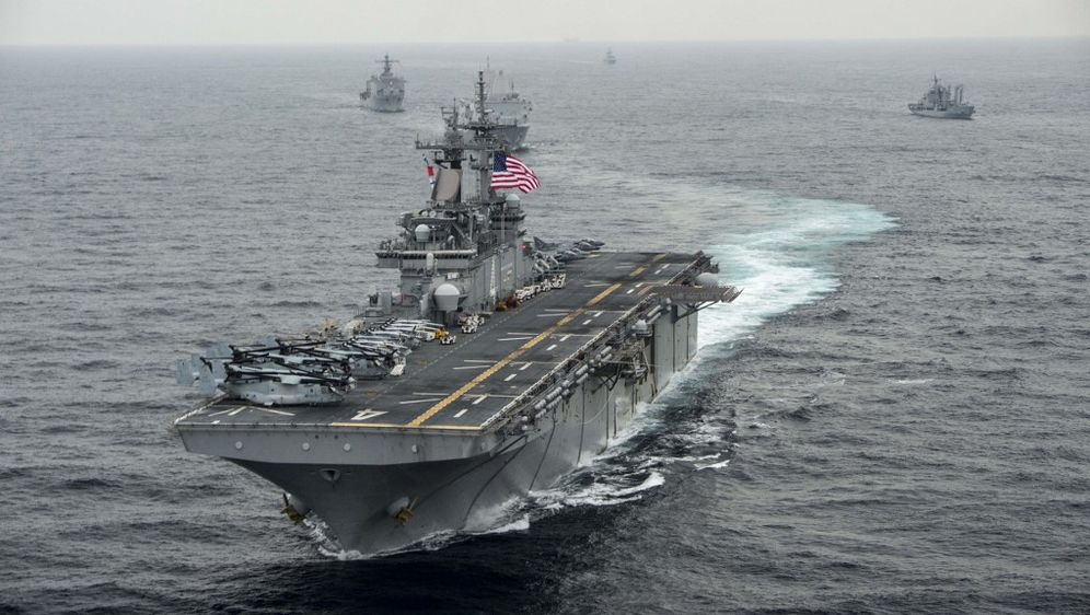 Ratni brod USS Boxer (Foto: AFP)
