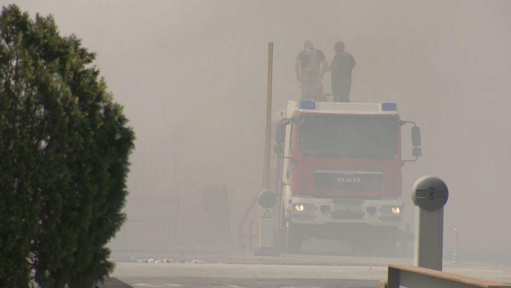 Dim nakon gašenja Jakuševca (Foto: Dnevnik.hr) - 2