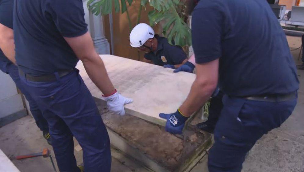 Iskop kostiju pronađenih u Vatikanu (Foto: Dnevnik.hr)