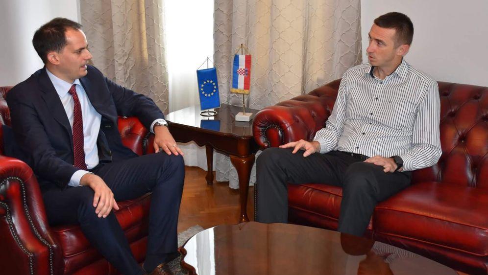 Ivan Penava, Ivan Malenica (Foto: Ministarstvo uprave)