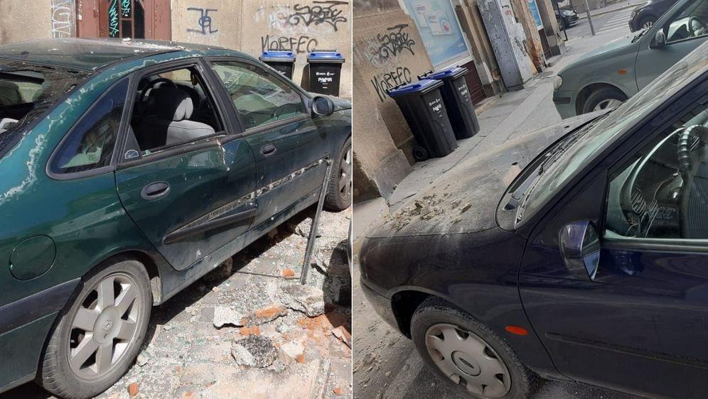 Zagrepčanki su nakon potresa oštećena dva automobila